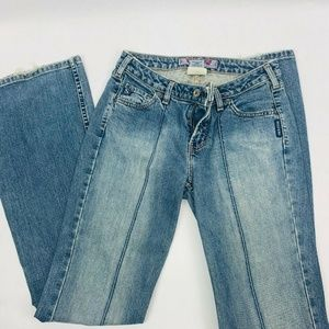 Silver Flair Faded Jeans Womens 30 Light Blue